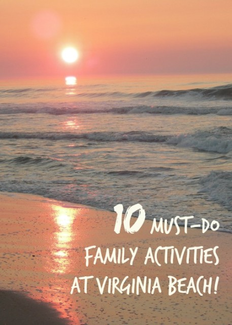 family activities at Virginia beach