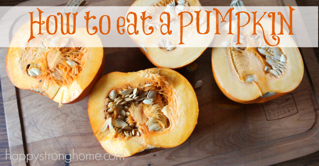 How to eat a pumpkin cooking ideas