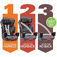 switch car seats for older kids