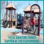 These amazing things are happening at the playground! Come and see!