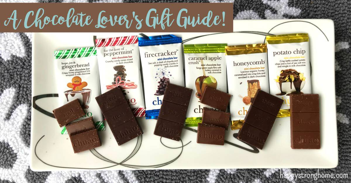 Chocolate lovers gift guide FB