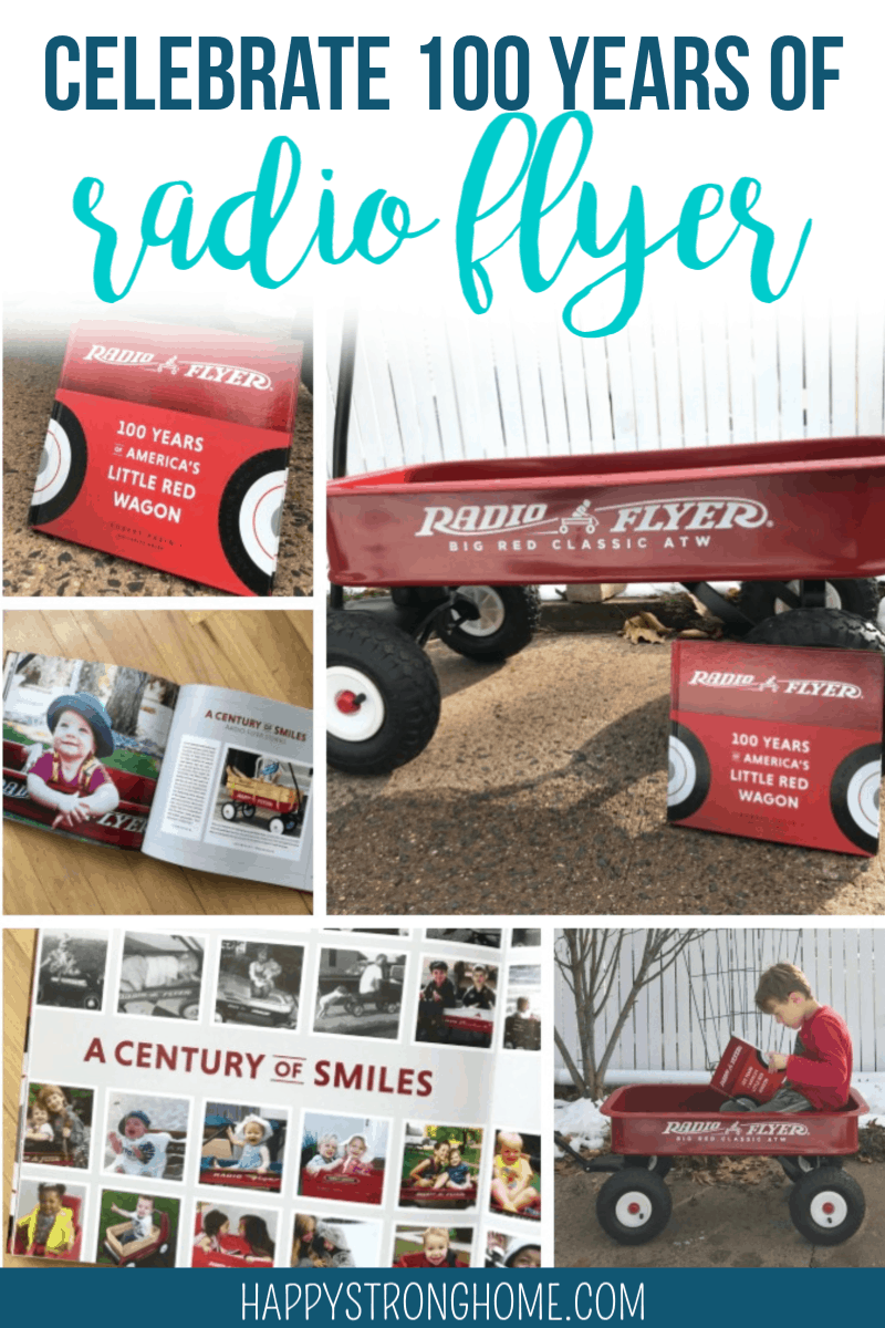 Radio Flyer's 100 Years of America's Little Red Wagon