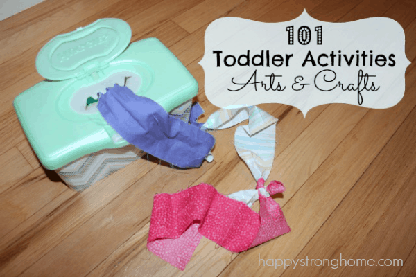 Toddler Arts And Crafts Activities