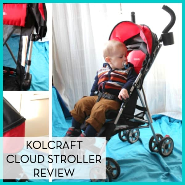 Travel Light with the Kolcraft Cloud Stroller ~ Review
