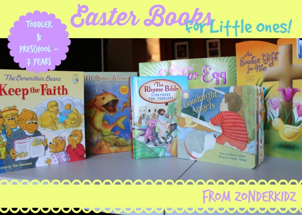 Easter books for preschoolers feature