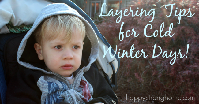 layering tips for cold weather
