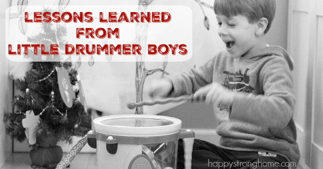 Lessons Learned from Little Drummer Boys