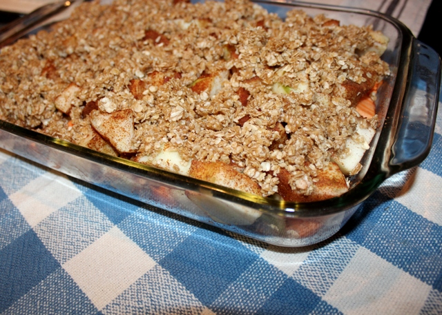 sweet potato apple crisp recipe