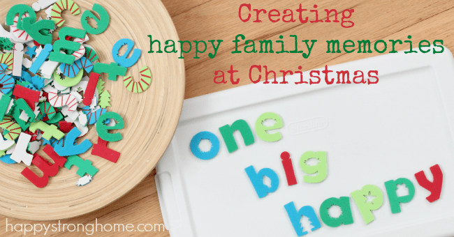 Creating One Big Happy Family Memory this Christmas