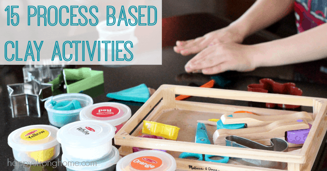 15 Process Based Clay Activities