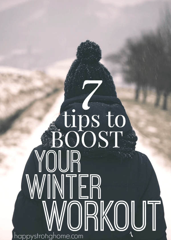 tips for winter workouts