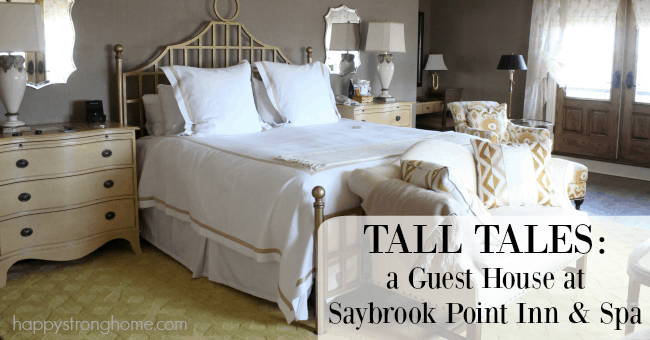Romantic Getaway: Tall Tales at Saybrook Point Inn {Connecticut}