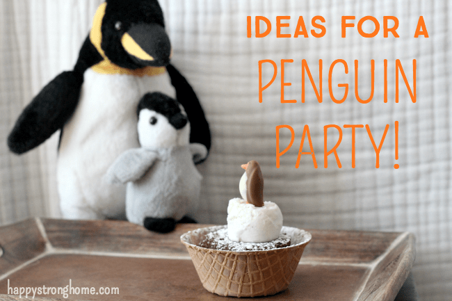 Birthday Party Themes: Adorable Penguin Party Ideas