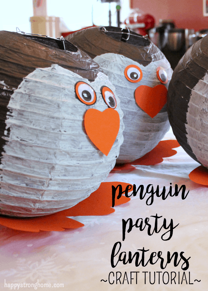 Penguin Party Lanterns