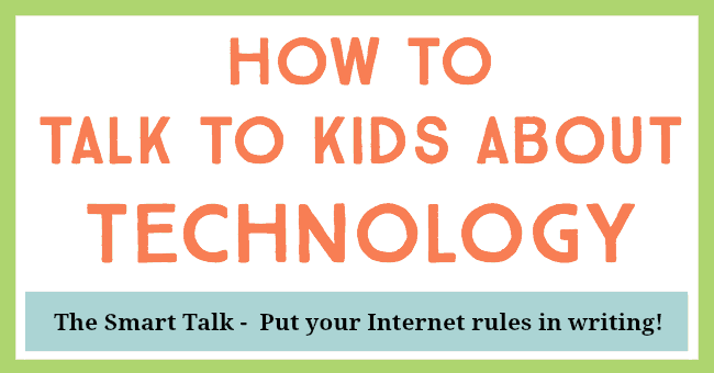 how to talk to kids about technology