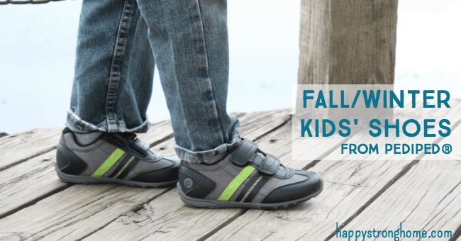 Playing in the Park: New Fall / Winter Kids' Shoes from Pediped
