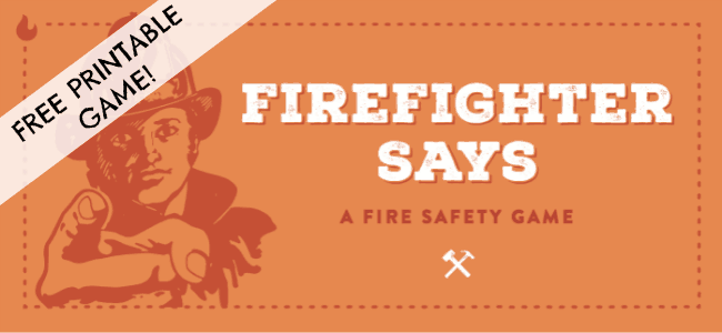 Fire Prevention Week: Grab this Free Printable Fire Safety Game