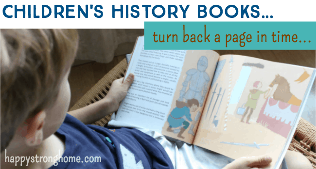 childrens history books