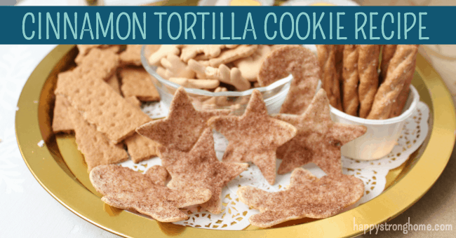 Cinnamon Tortilla Cookies Recipe