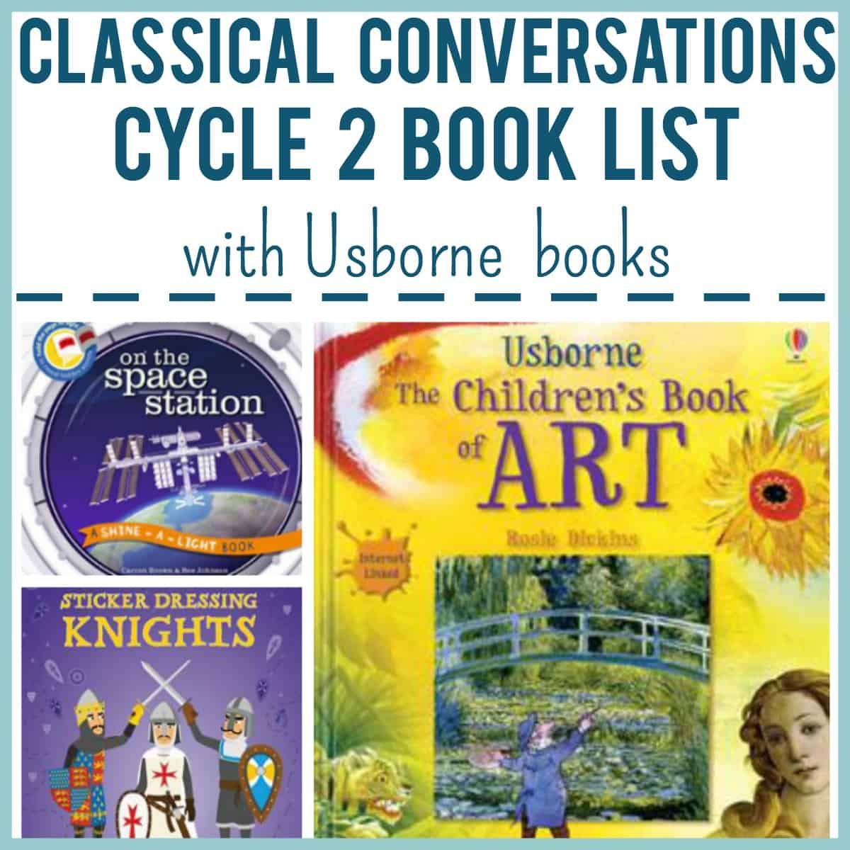 Classical Conversations Cycle 2 Book List