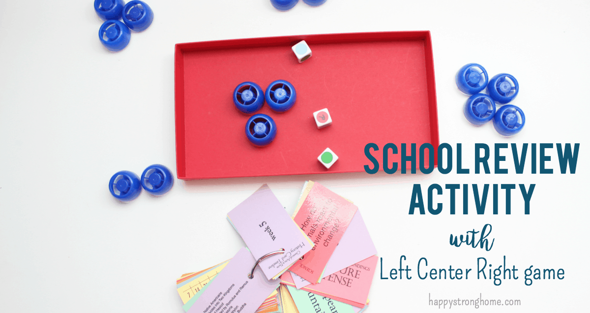 School Review Activity Game