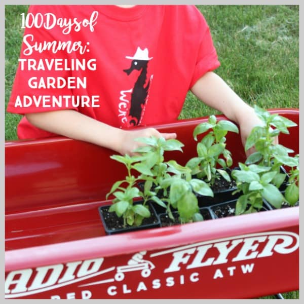 Kids' Traveling Garden Adventure! Celebrate Radio Flyer's 100 Days of Summer
