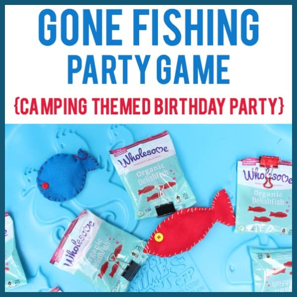 DIY Gone Fishing Party Game Idea