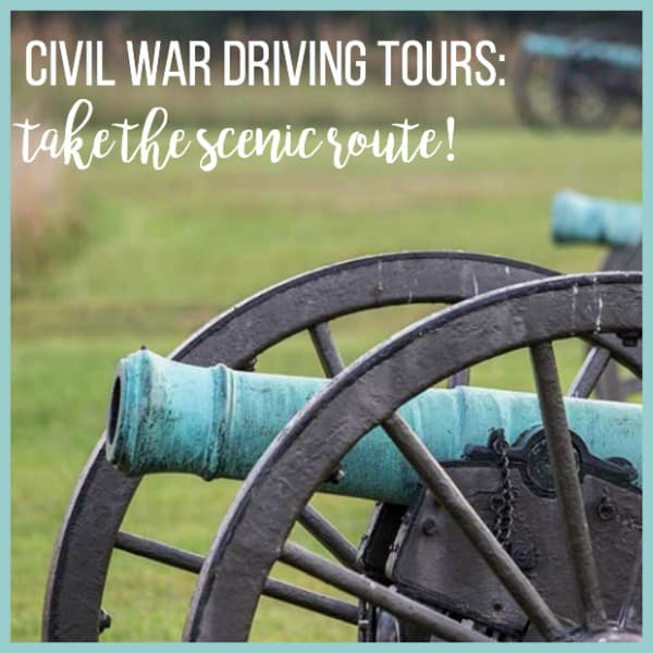 Civil War Driving Tours
