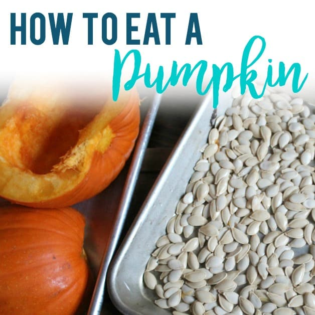 How to Eat a Pumpkin (almost all of it!)