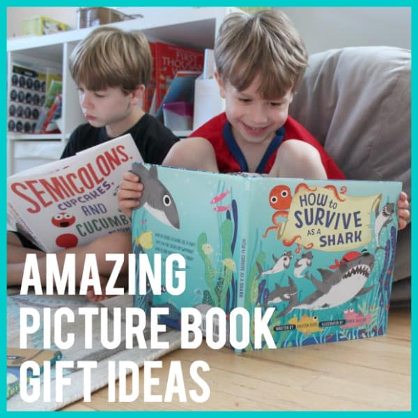 Unwrap a Great Book: Amazing Picture Book Gift Ideas for Kids (all ages!)