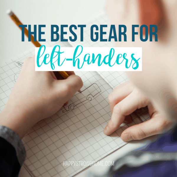 Left-handed Kids Gear Guide