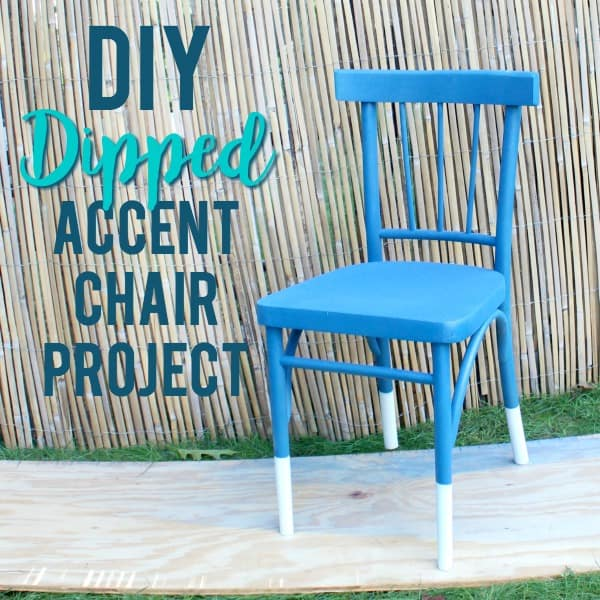 DIY Dipped Accent Chair Tutorial!