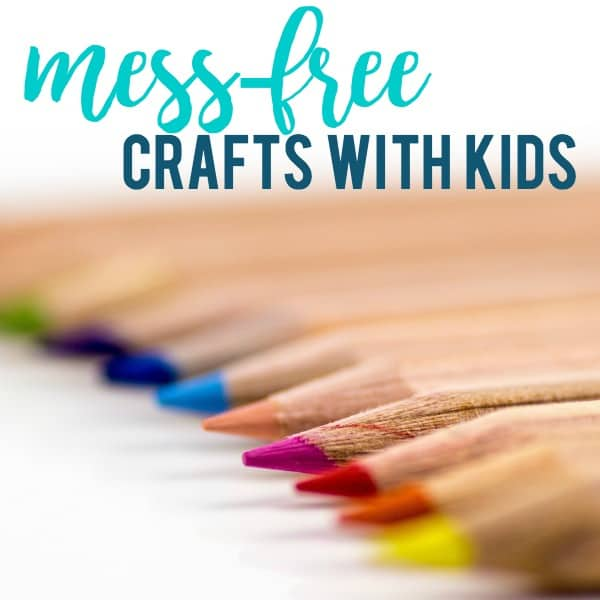 Mess Free Craft Ideas Keep Kids Happy!
