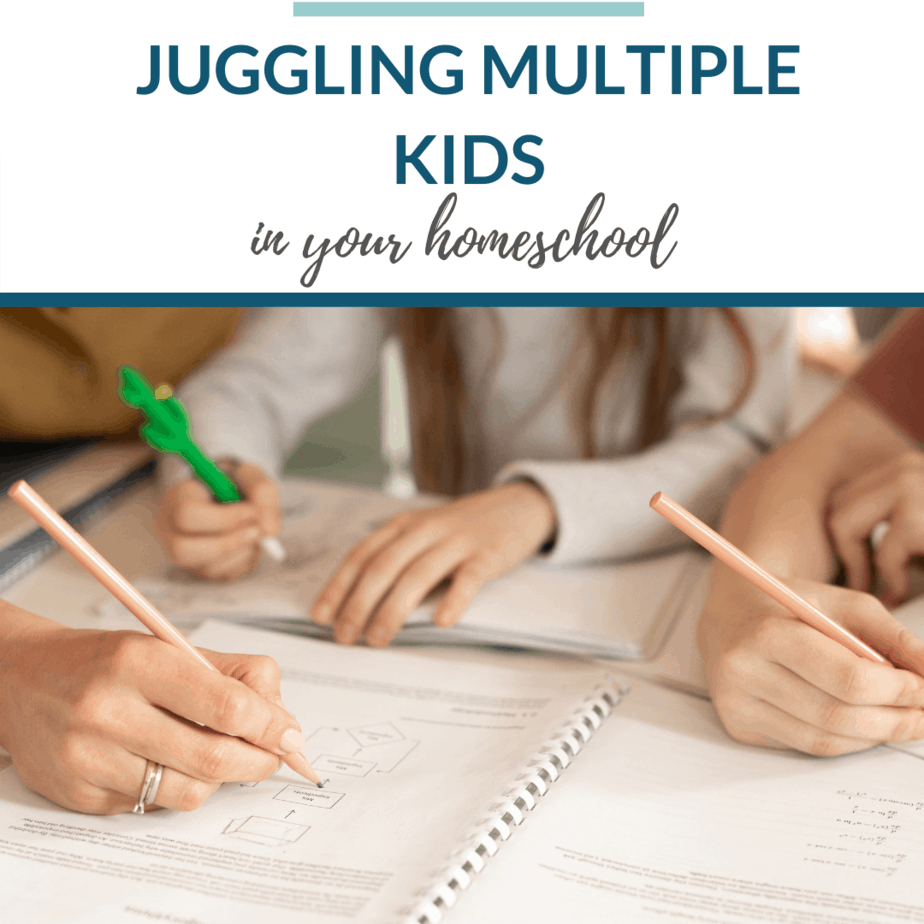 How to Juggle Homeschooling Multiple Kids