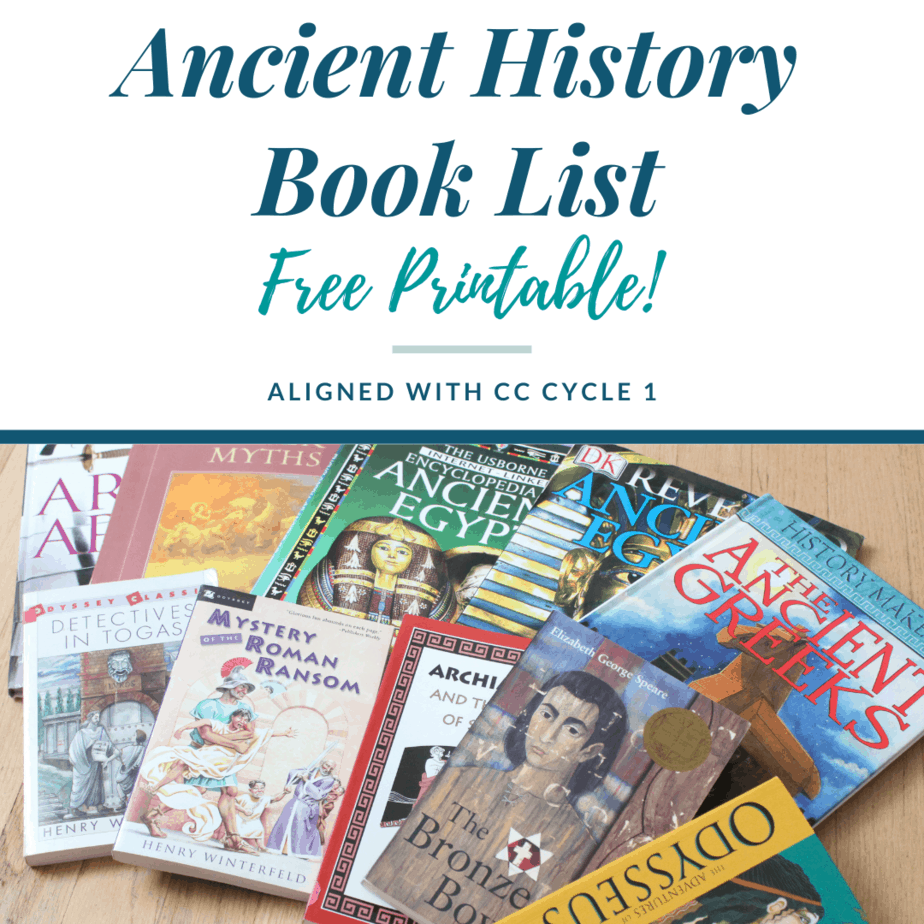 An Ancient History Book List – CC Cycle 1